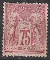 France 1876-1878 N° 71 Type Allégorique - 1876-1878 Sage (Type I)
