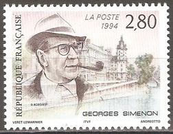 France - 1994 - Georges Simenon - YT 2911 Neuf Sans Charnière - MNH - France
