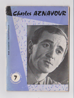 Charles Aznavour, Par J. Charpentreau, 1963. - Musique & Instruments