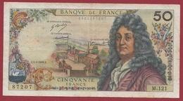 "50 Francs ""Racine"" Du 04/04/1968.E---VG/TTB---SérieM.121 - 1962-1997 ''Francs''"