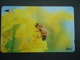 SINGAPORE  USED   CARDS  BEES $20 - Honingbijen