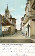Cuba - Una Calle Tipica De La Habana - Postales