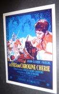 Carte Postale : Le Fils De Caroline Chérie (cinéma Affiche Film) Jean-Claude Pascal, Sophie Desmarets, Brigitte Bardot - Posters On Cards