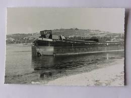 Péniche En Station Au Lac Kir - 1971 - Hausboote
