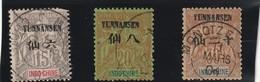 Yunnanfou Numero 6 7 Et 8 Oblitéré Premier Choix - Used Stamps