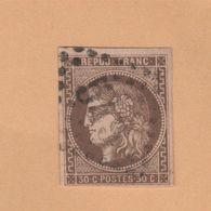 N° 47 30 C émission De Bordeaux Oblitéré Beau GC 549 - 1870 Uitgave Van Bordeaux