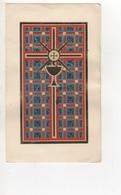 CHROMO IMAGE RELIGIEUSE DECORATION COLLEE - Devotieprenten