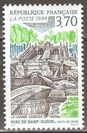 France - 1994 - Grande Cascade Du Parc De Saint Cloud - YT 2905 Neuf Sans Charnière - MNH - France