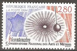 France - 1994 - Conservatoire National Des Arts Et Métiers - YT 2904 Neuf Sans Charnière - MNH - France
