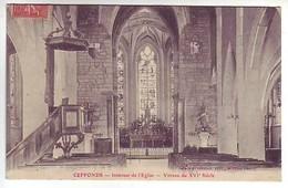 52 Ceffonds - Intérieur De L'Eglise - Vitraux Du XVI E Siècle  - Ed: Robin - France