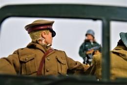 Vintage ACTION MAN : BRITISH ARMY OFFICER - Original Hasbro 1970's - Palitoy - GI JOE - Action Man