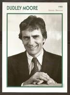 PORTRAIT DE STAR 1985 GRANDE BRETAGNE - ACTEUR DUDLEY MOORE - ENGLAND ACTOR CINEMA FILM PHOTO - Fotos