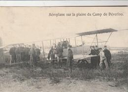 Aéroplane Sur La Plaine Du Camp De Béverloo ,Bourg-Léopold ,Kamp ,l'aviation ,De Vliegdienst (avion) - Leopoldsburg (Camp De Beverloo)
