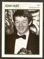 PORTRAIT DE STAR 1985 GRANDE BRETAGNE - ACTEUR JOHN HURT - ENGLAND ACTOR CINEMA FILM PHOTO - Fotos