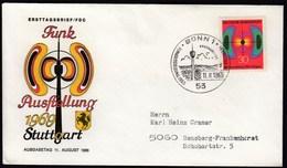 Germany  Bonn 1969 / Radio Exhibition / Funk Austellung Stuttgart / FDC - Telecom
