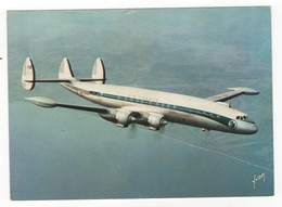 Aviation - Super G Constellation D'Air France. N°2. Carte Postale Couleur. Editions D'Art Yvon, Paris - France