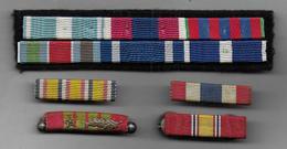 Lot De Barrettes De Rappel - Médailles & Décorations
