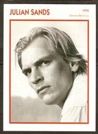 PORTRAIT DE STAR 1990 GRANDE BRETAGNE - ACTEUR JULIAN SANDS - ENGLAND ACTOR CINEMA FILM PHOTO - Fotos
