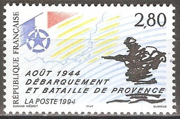 France - 1994 - Débarquement Et Bataille De Provence – Août 1944 - YT 2895 Neuf Sans Charnière - MNH - France