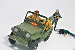 Vintage ACTION MAN : JEEP - Original Hasbro 1970's - Palitoy - GI JOE - Action Man