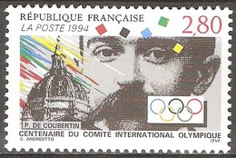 France - 1994 - Comité International Olympique - YT 2889 Neuf Sans Charnière - MNH - France