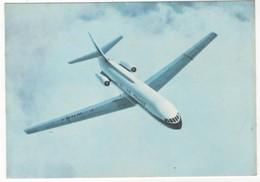 Aviation - Dans Le Ciel De France. Caravelle D'Air France. N°114. Carte Postale Couleur. Editions P. I., Paris. - France