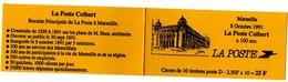 Carnet La POSTE COLBERT Marseille - Marianne De BRIAT - 2712 C1 - Usados Corriente
