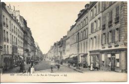 D78 - VERSAILLES - LA RUE DE L'ORANGERIE-Femme Avec Landeau-Enfant Avec Cerceau-Chien-Société Générale-Véhicules Anciens - Versailles