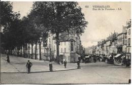 D78 - VERSAILLES - RUE DE LA PAROISSE - Quelques Personnes - Central Garage Renault - Pub : KUB-BYRRH - Versailles