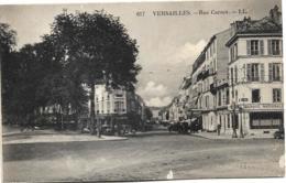 D78 - VERSAILLES - RUE CARNOT - Banque Nationale - Pharmacie - Café/Restaurant - Véhicules Anciens - Versailles