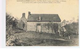 CPA Bazouges-du-Désert (35) Le Vieux Moulin à Papier Et Le Château De Malagra - Autres Communes