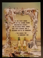 Somersby Pear Ceder Carte Postale - Pubblicitari