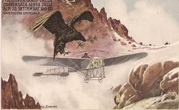 Aviation - Traversée Des Alpes - 1911 - Flugwesen