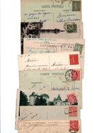 TIMBRE TYPE SEMEUSE LIGNEE...VOIR DETAIL.........LOT DE 48 SUR CPA.....VOIR SCAN......LOT 3 - 1903-60 Semeuse Lignée