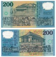 1998 // CENTRAL BANK OF SRI LANKA // 200 RUPEES // POLYMER // UNC - Sri Lanka