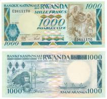 1988 // RWANDA // BANQUE NATIONALE // 1 000 Francs // UNC - Rwanda