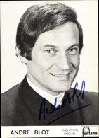 Cp Sänger Andre Blot, Portrait, Fontana Schallplatten - Historical Famous People