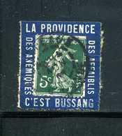 Semeuse N° 137 Sur Porte Timbre BUSSANG Case9 N° 1080 Yvert (livret De L'expert 2010) - 1900-29 Blanc