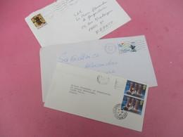 3 Enveloppes Affranchies/ France, Grèce, Angleterre/Adressées Au Prince Alexandre De Yougoslavie/1983-84-94      TIMB119 - Familles Royales
