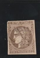 France 47 Deuxieme Choix Touché Au Filet - 1870 Uitgave Van Bordeaux