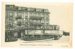 54 - NANCY - Hôtel Des 2 Hémisphères - 5 Place Thiers Nancy - Nancy