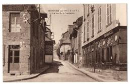 CPA 35 - MONTFORT SUR MEU (Ille Et Vilaine) - La Rue De La Saulnerie - France
