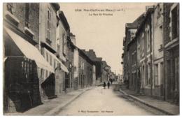 CPA 35 - MONTFORT SUR MEU (Ille Et Vilaine) - 3830. La Rue St-Nicolas - France
