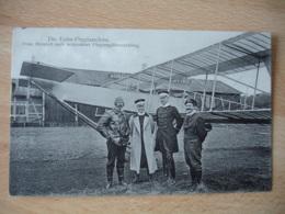 Armee Air Allemande Die Euler Flugmaschine Prinz Heinrich Nach Bestandener Avion Pilote - Weltkrieg 1914-18