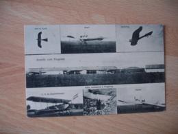 Armee Air Allemande Avion Vue Multiples Ansicht Vom Flugplatz  Guerre 14.18 - Weltkrieg 1914-18