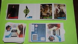 LOT De 218 Images Autocollantes Pour Album Collecteur Vignettes Pochette De Stickers  STAR WARS - Disney- PUB Leclerc - Advertising