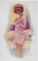 Thèmes  Illustrateur M. Milliere Sourires De Paris Serie N° 54 Erotique - Milliere
