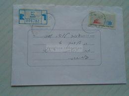 ZA268.17 ISRAEL  Registered Cover  1998 Cancel  RAHAT - Israel