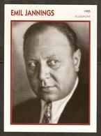 PORTRAIT DE STAR 1925 ALLEMAGNE - ACTEUR EMIL JANNINGS - GERMANY ACTOR CINEMA FILM PHOTO - Fotos
