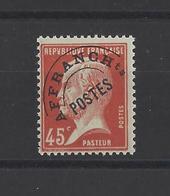 FRANCE.  YT   Préoblitérés  N° 67  Neuf **  1920 - Preobliterati